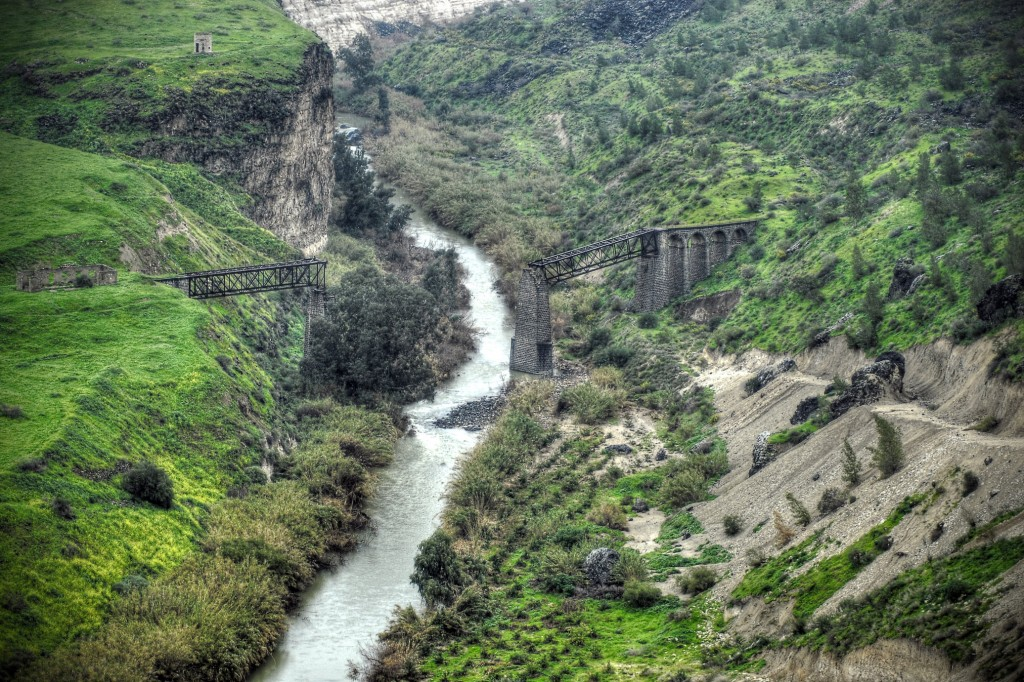Simple Science for Kids all about Jordan - Image of the Jordan River
