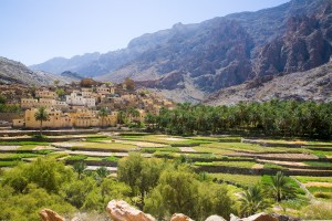 Simple Science for Kids All about Oman - Image of a Landscape in Oman
