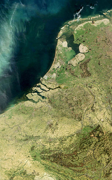 Simple Science for Kids All About the Low Countries - the Low Countries Seen from Space