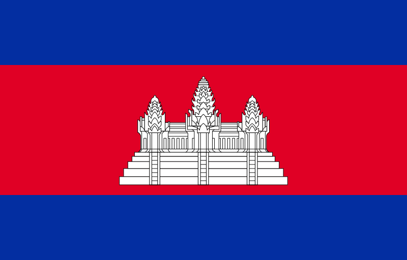 All about Cambodia Fun Facts for Kids - National Flag of Cambodia