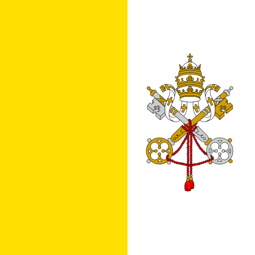 All about the Vatican City for Kids - National Flag of the Vatican City