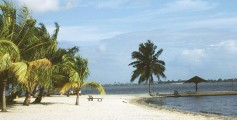 Earth Science for Kids on Ivory Coast - Image of a Cocody Beach in Abidjan, Ivory Coast