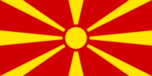 Easy Geography for Kids All About Macedonia - the National Flag of Macedonia