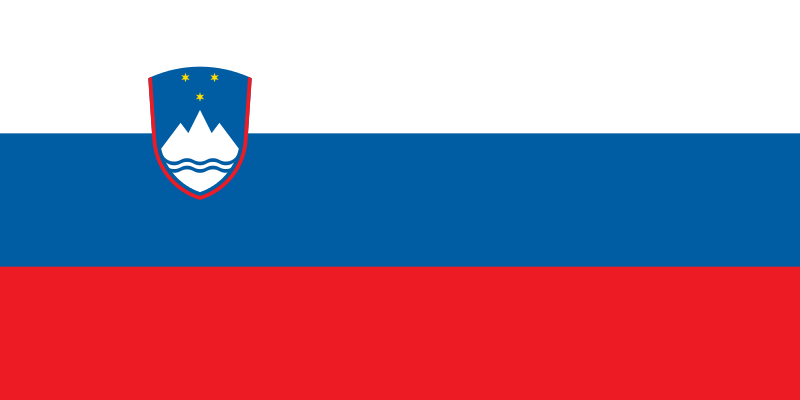 Fun Earth Science for Kids All About Slovenia - the National Flag of Slovenia