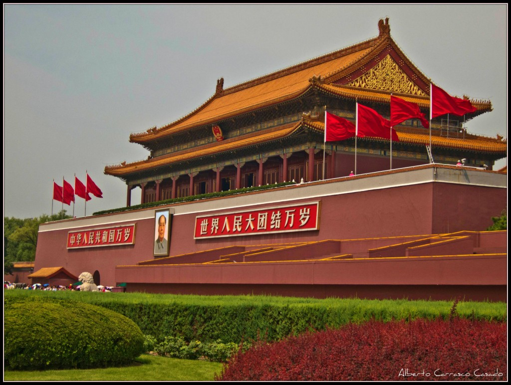 Fun Earth Science for Kids on the Man-made Wonders of the World - Image of the Forbidden City in China
