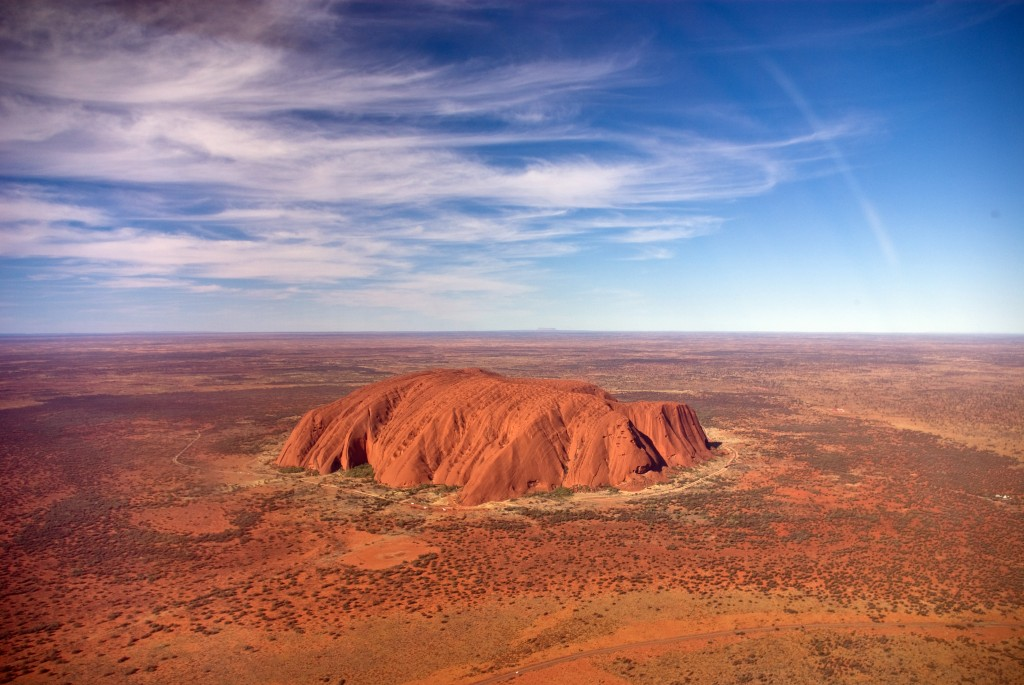 Fun Facts for Kids all about the Natural Wonders of the World - Image of Uluru in Australia