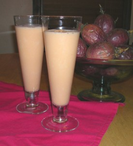 Fun Facts for Kids on the Passion Fruit Milkshake from East Africa - Image of Passion Fruit Milkshakes