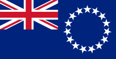 Fun Geography Facts for Kids All about Cook Islands - National Flag of Cook Islands image
