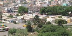 Geography Facts for Kids on Cape Verde - Image of Praia, the Capital City of Cape Verde