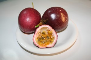 Geography Facts on the Passion Fruit Milkshake from East Africa for Kids - Image of Red Passion Fruits