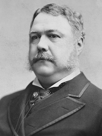 Chester-A.-Arthur-21th President of United States
