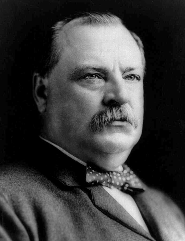 Grover-Cleveland-22nd and 24th U.S. President