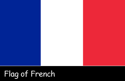Flag of French