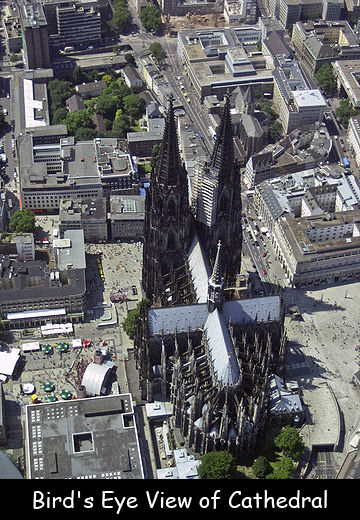Bird's Eye View of Cathedral