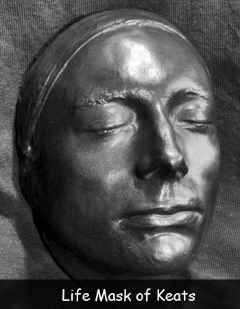 Life Mask of Keats
